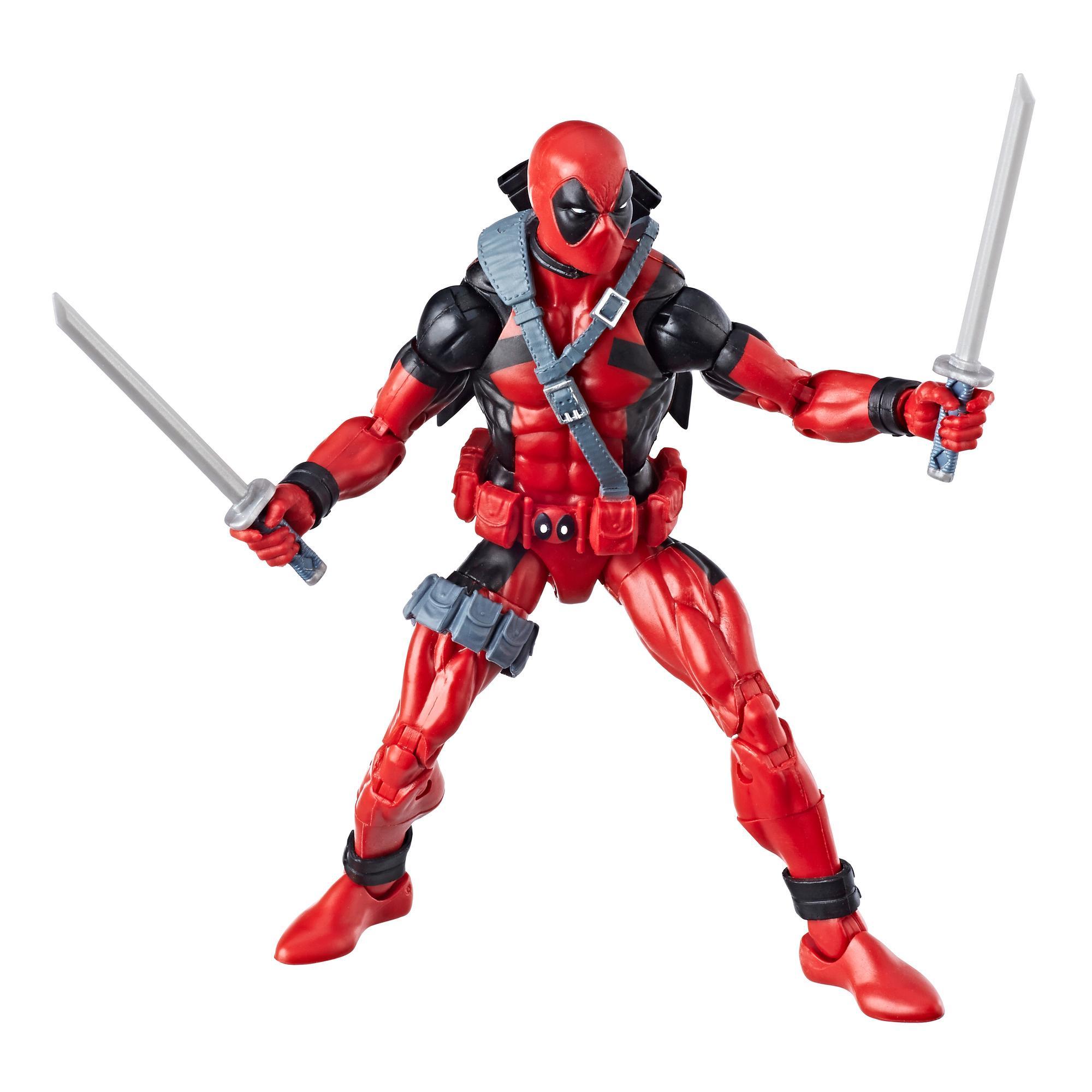 Marvel Legends - Deadpool (Build-A-Figure Marvel's Sasquatch Action Figure Collezione, 15 cm)