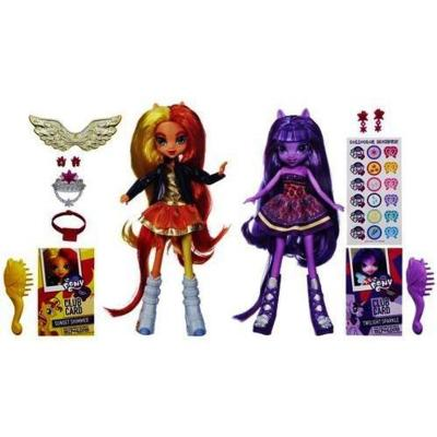 Equestria Girls Twilight Sparkle e Sunset Shimmer
