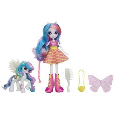 Equestria Girls Bambola Celestia con pony