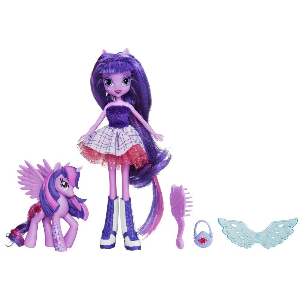Equestria Girls Bambola Twilight Sparkle con pony