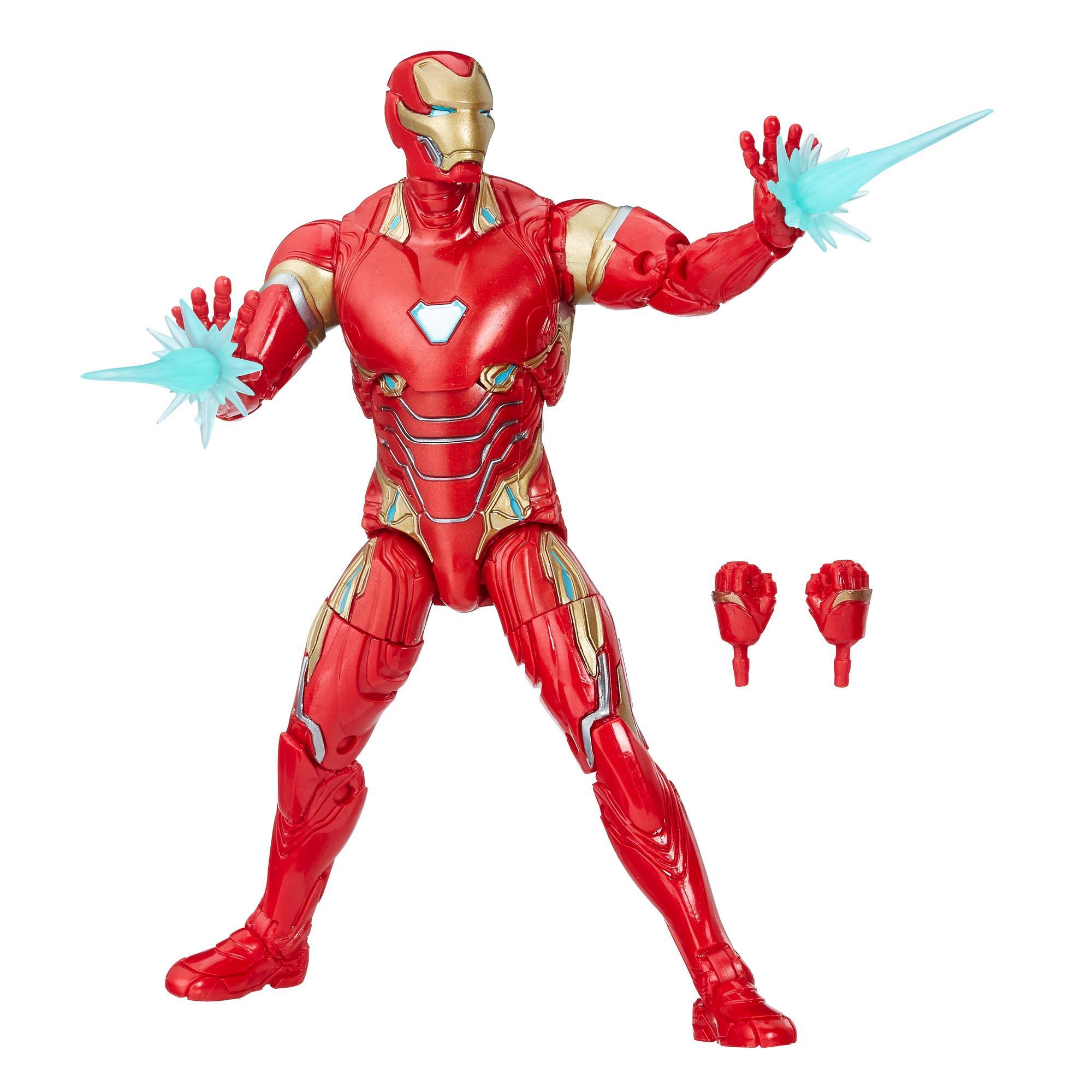 Marvel Legends - Iron Man (Build-A-Figure Thanos Action Figure Collezione, 15 cm)