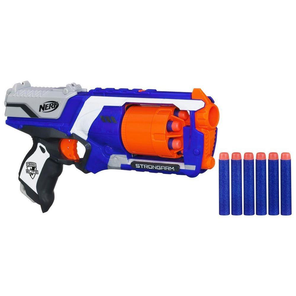 Nerf N-Strike Elite Strongarm Blaster (Double Your Darts)