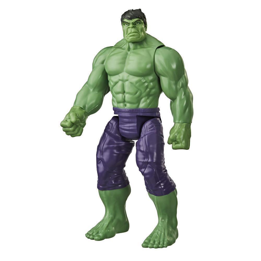 Marvel Avengers Titan Hero Series Blast Gear, Action figure di Hulk (classe Deluxe)