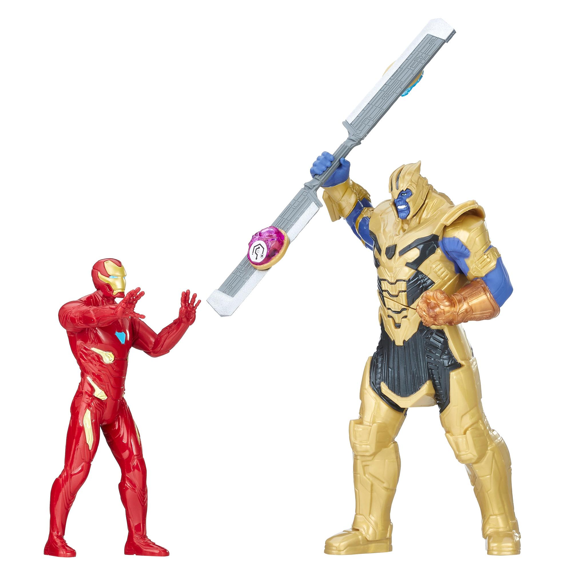 Avengers: Infinity War - Iron Man vs. Thanos Hero Vision (Battle Set Personaggi, Action Figure)