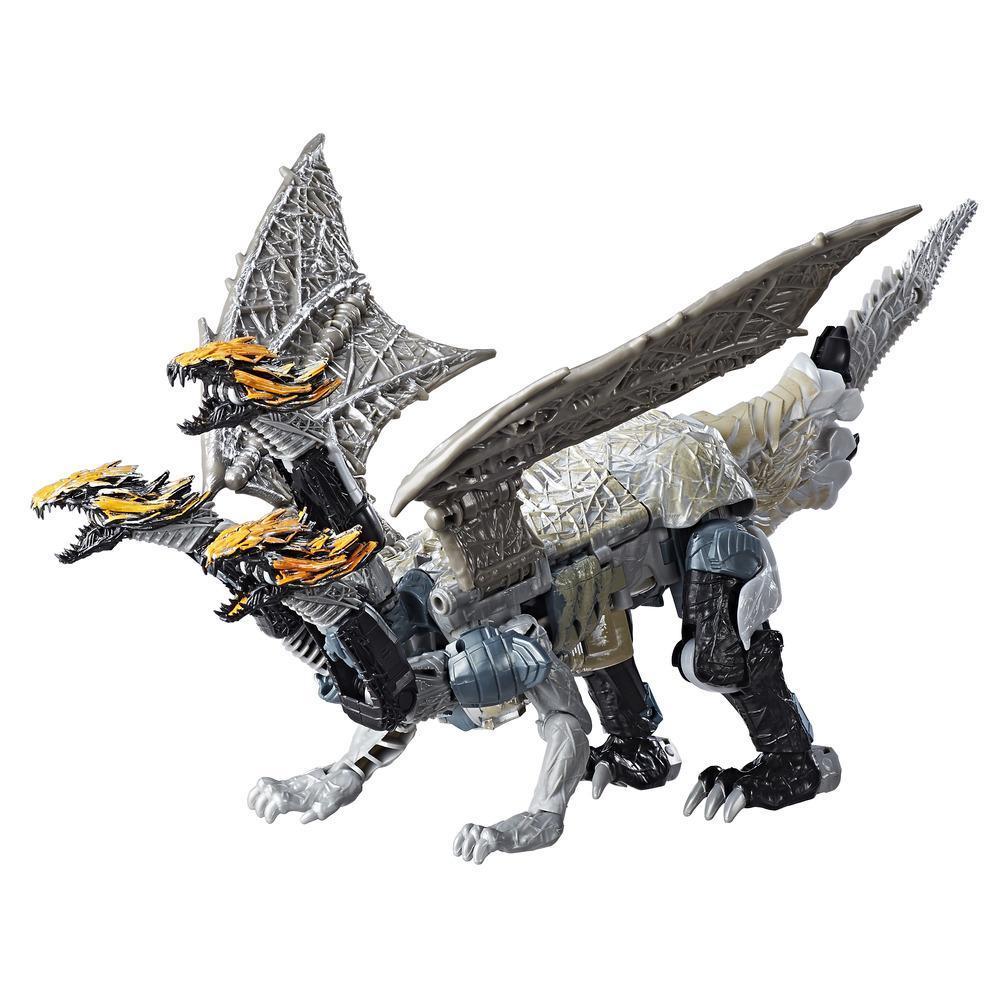 Leader Class Dragonstorm edizione Premier da Transformers: L'Ultimo Cavaliere