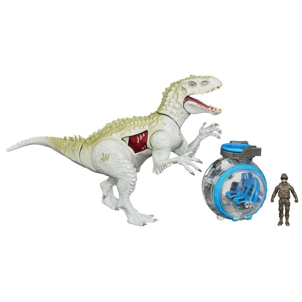 Jurassic World Indominus Rex vs. Gyrosphere
