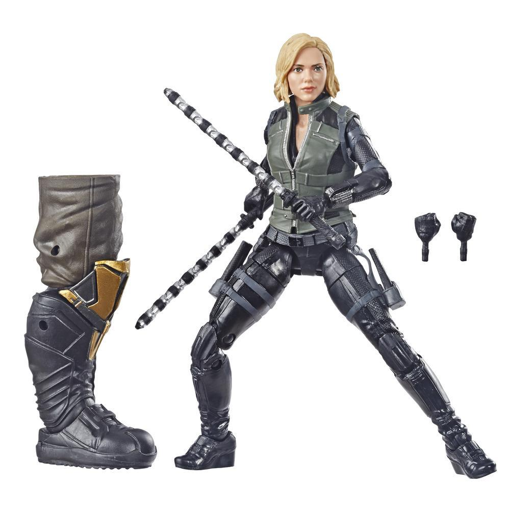 Marvel Legends - Black Widow (Action Figure da collezione 15cm, ispirata a Avengers: Infinity War - Build-A-Figure Thanos)