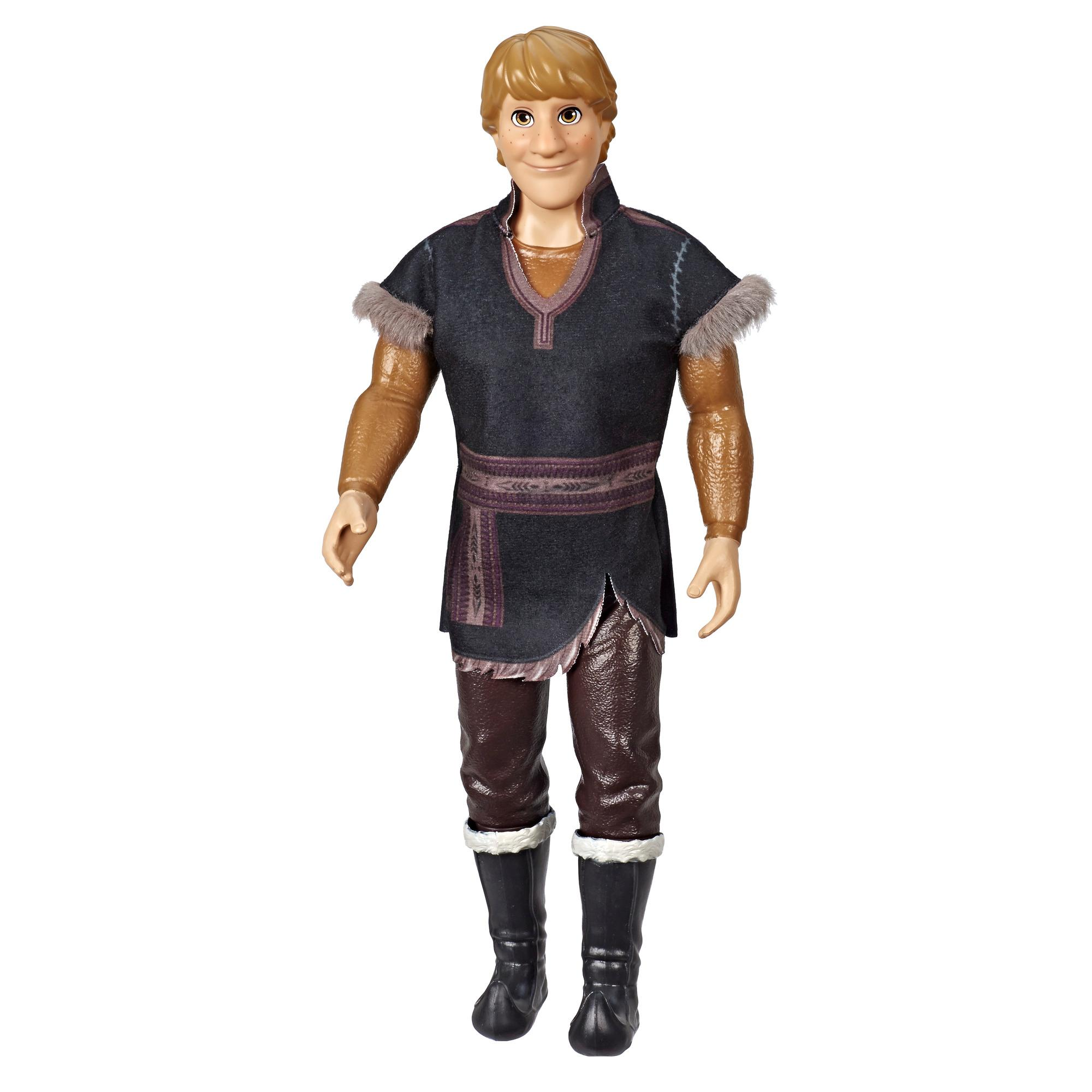 Disney Frozen - Kristoff (Fashion Doll con abito marrone, ispirata al film Frozen 2)