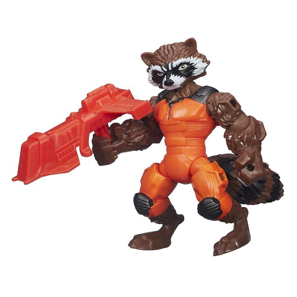 Marvel Hero Mashers action figures - Rocket Raccoon
