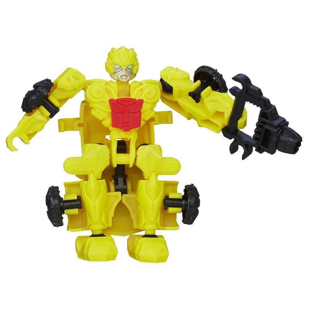 Personaggio di azione montabile Bumblebee serie Construct-Bots Dinobot Riders dal film Transformers - L'era dell'estinzione