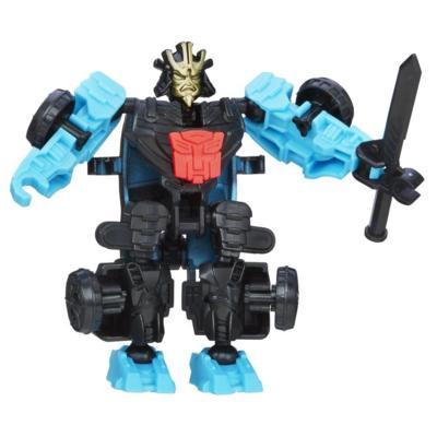 Personaggio di azione montabile Autobot Drift serie Construct-Bots Dinobot Riders dal film Transformers - L'era dell'estinzione