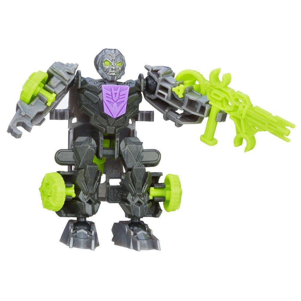 Personaggio di azione montabile Lockdown serie Construct-Bots Dinobot Riders dal film Transformers - L'era dell'estinzione