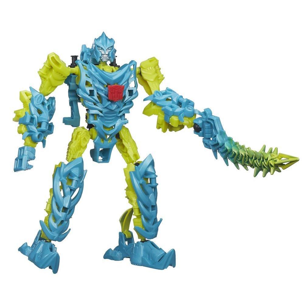 Personaggio di azione montabile Dinobot Slash serie Construct-Bots Dinobots dal film Transformers - L'era dell'estinzione