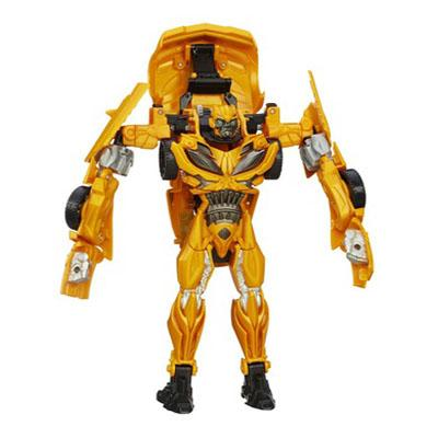 PERSONAGGIO FLIP AND CHANGE BUMBLEBEE DAL FILM TRANSFORMERS - L'ERA DELL'ESTINZIONE