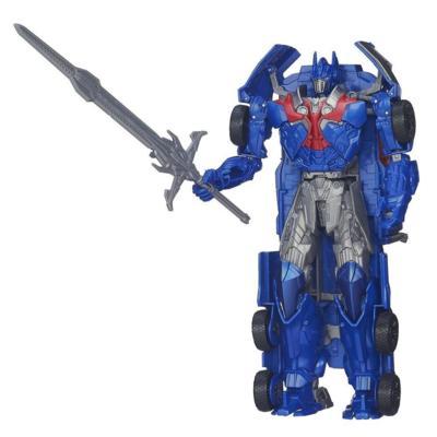 Personaggio Flip and Change Optimus Prime dal film Transformers - L'era dell'estinzione