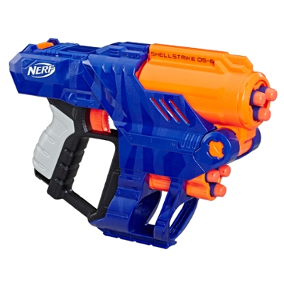 Nerf- Elite Shellstrike DS 6