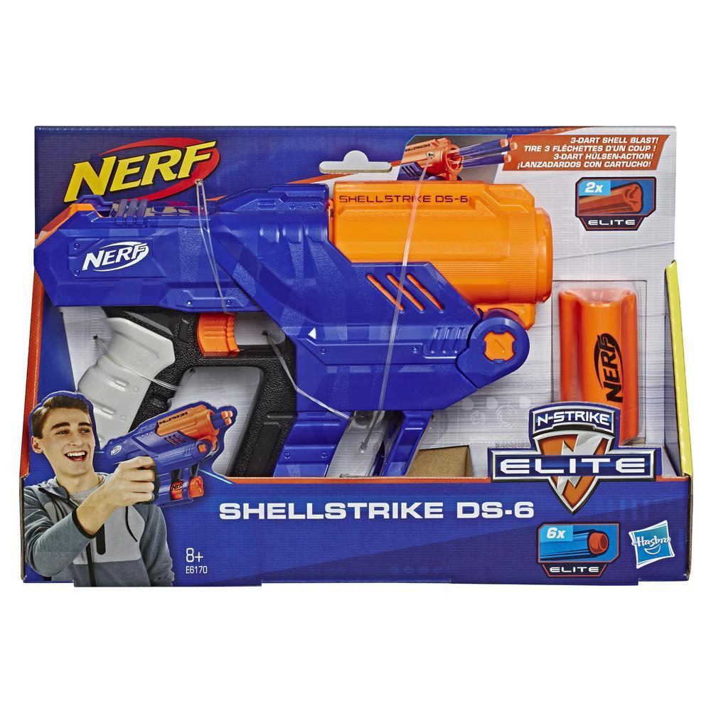 Nerf- Elite Shellstrike DS 6