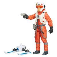 Star Wars: Il risveglio della Forza Asty pilota della X-Wing nella neve personaggio da 9,53 cm