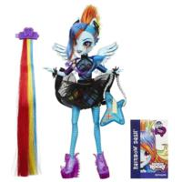 My Little Pony Equestria Girls Rainbow Rocks Rainbow Dash Rockin' Hairstyle Doll
