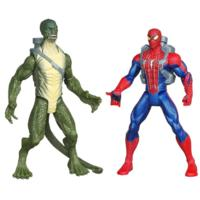 THE AMAZING SPIDER-MAN WEB BATTLERS DELUXE SPIDERMAN& LIZARD
