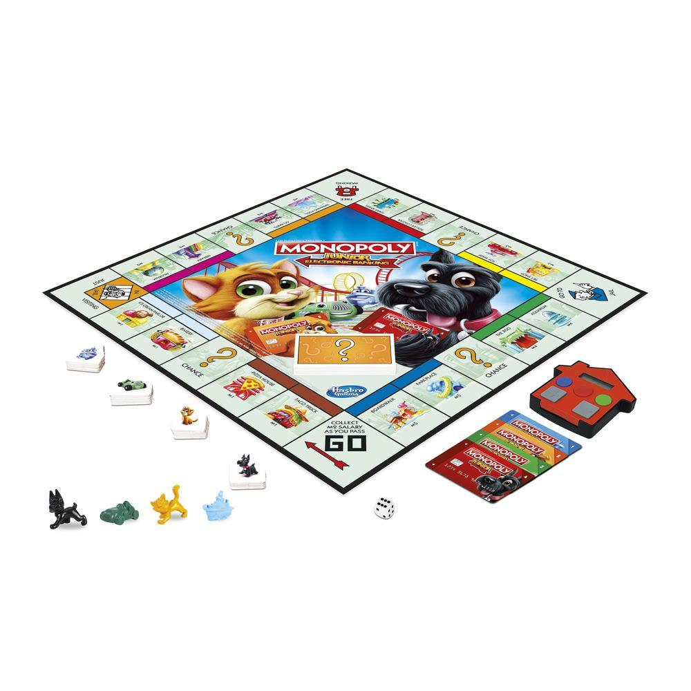 Monopoly Junior Electronic Banking (Gioco in Scatola, Hasbro Gaming)