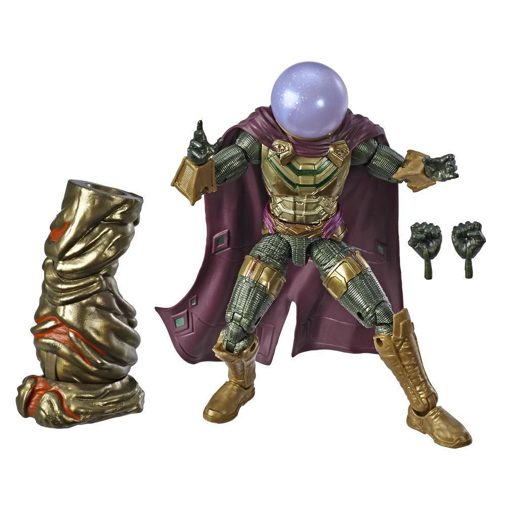 Marvel Legends - Mysterio (Action Figure da collezione 15cm, ispirata a Spider-Man: Far From Home - Build-A-Figure Molten Man)
