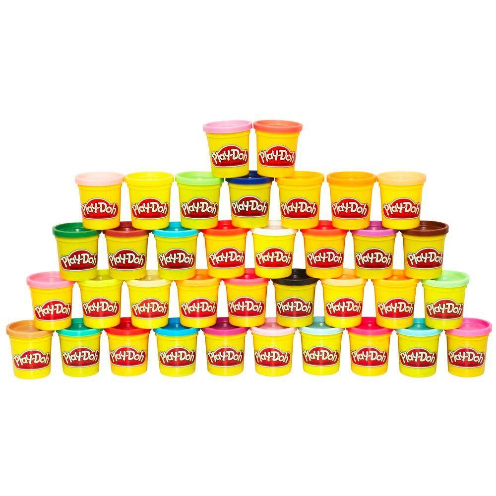 Play-Doh - Mega Pack da 36 Vasetti