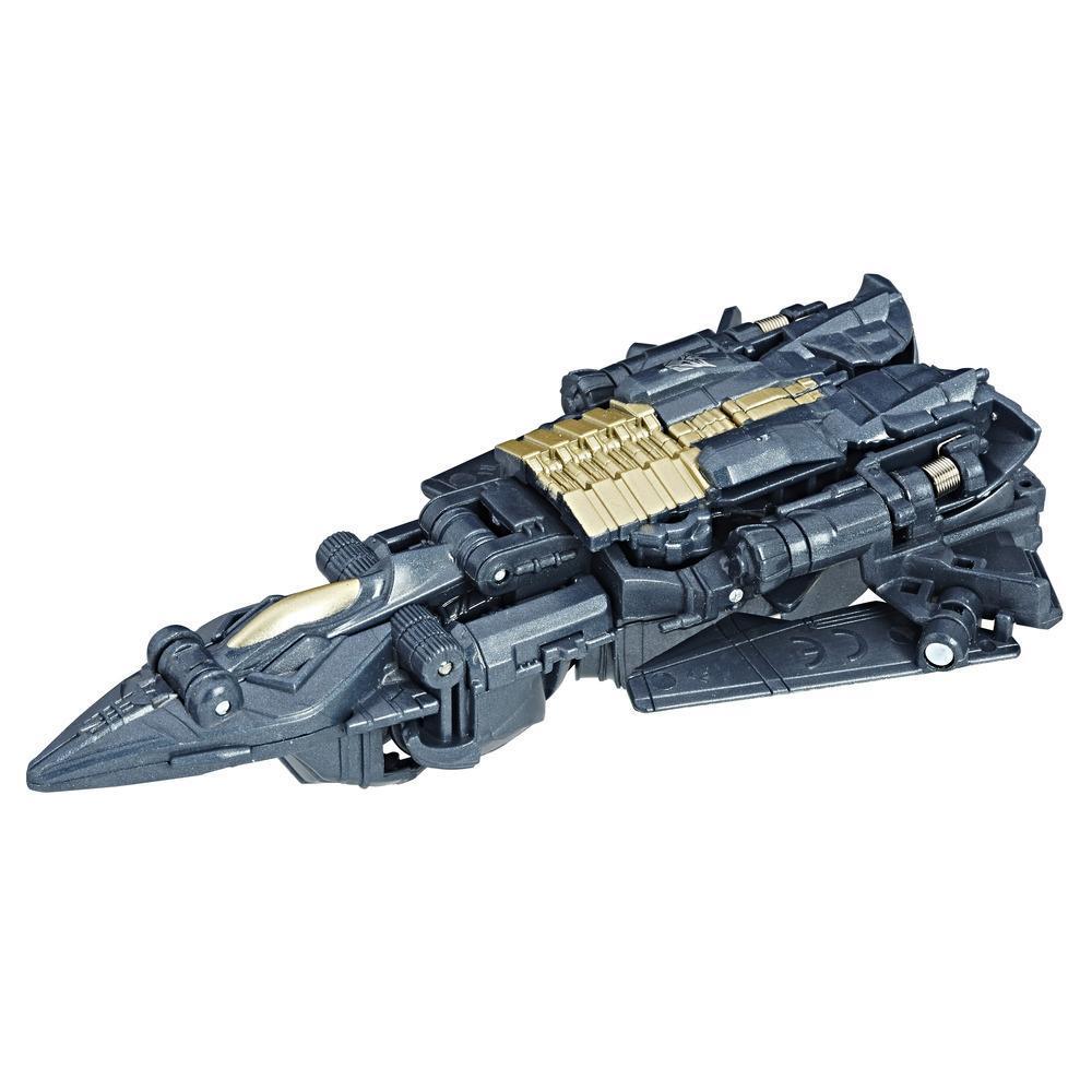 Turbo Changer Megatron da 1 mega-mossa dal film Transformers: l'Ultimo Cavaliere.