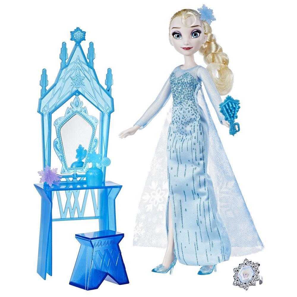 Elsa di Frozen della Disney e la Toeletta dell'Incoronazione