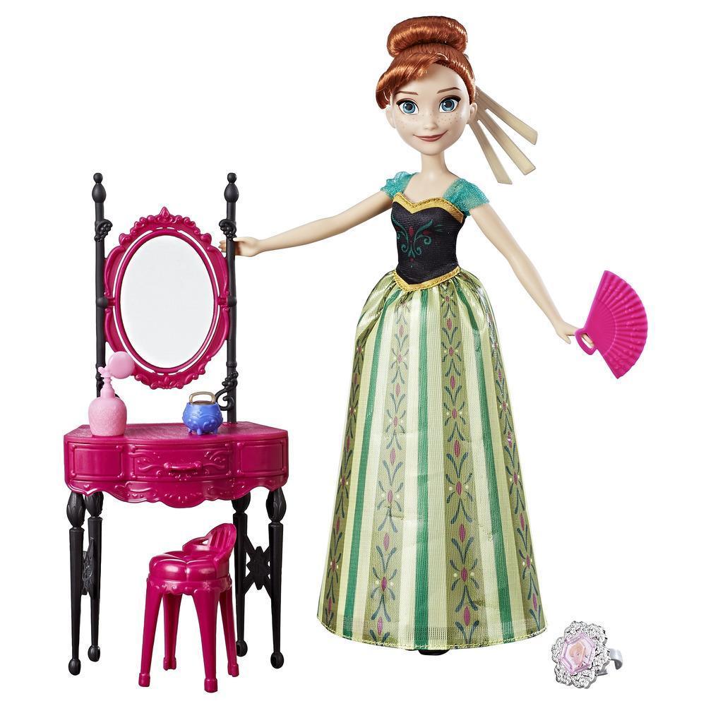 Anna di Frozen della Disney e la Toeletta dell'Incoronazione