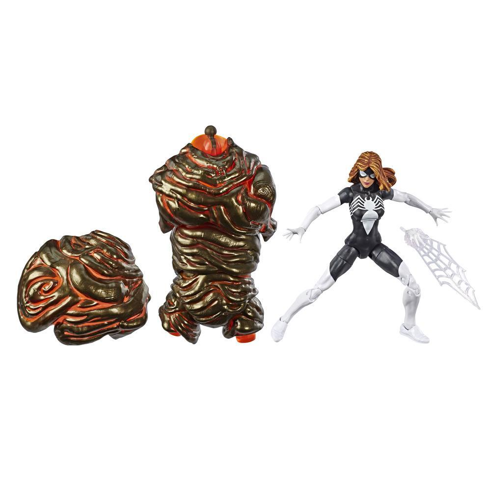 Marvel Legends - Spider-Woman (Action Figure da collezione 15cm, ispirata a Spider-Man: Far From Home - Build-A-Figure Molten Man)
