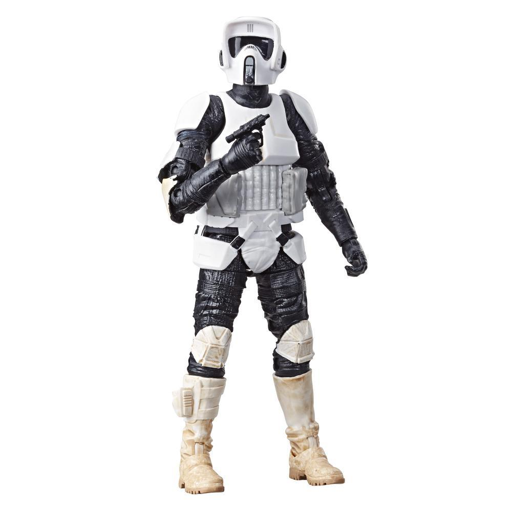 Star Wars The Black Series - Biker Scout (Action Figure da collezione, 15 cm)