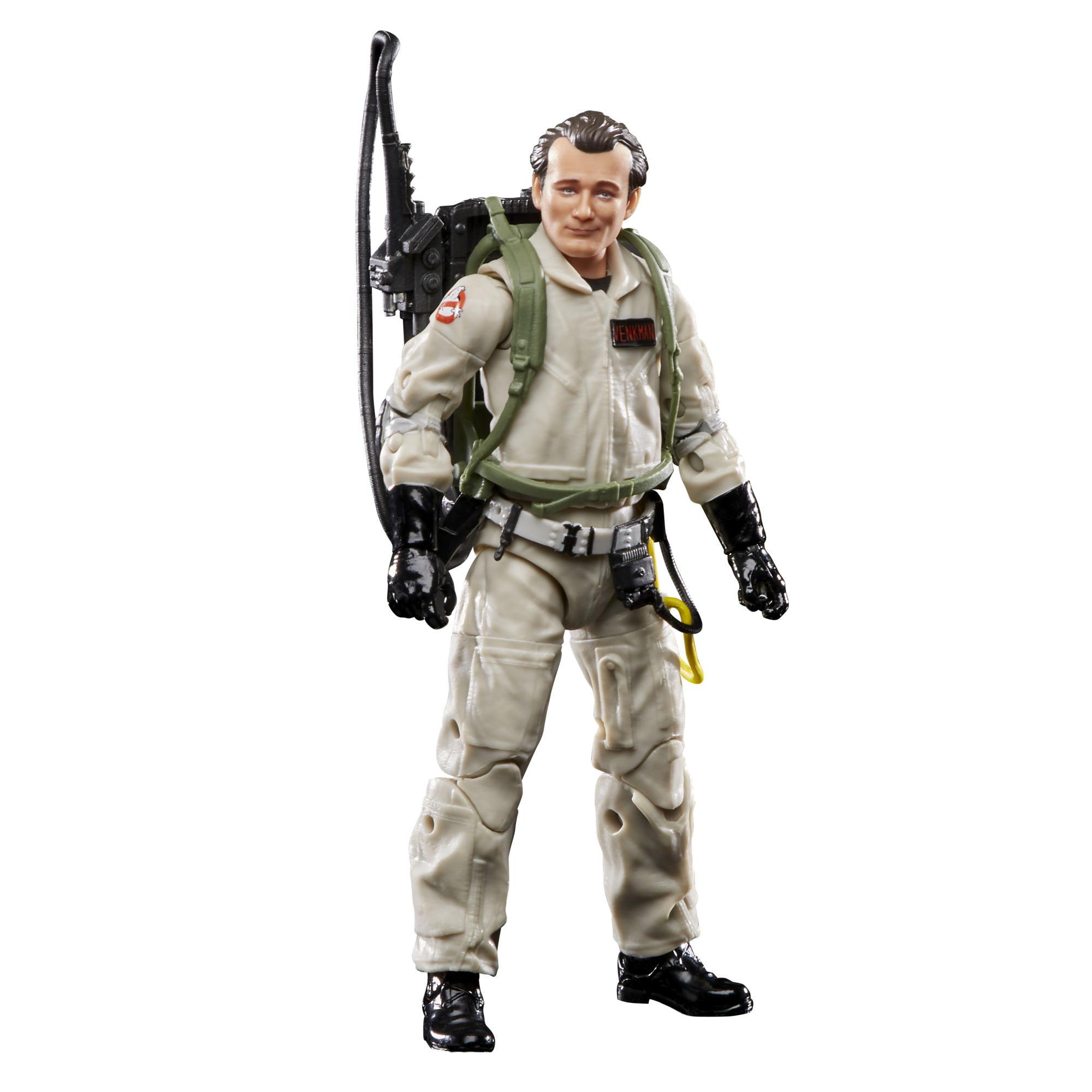 Ghostbusters Plasma Series - Peter Venkman (Action figure 15 cm da collezione, Build-A-Ghost Terror Dog, ispirata al film Ghostbusters del 1984)