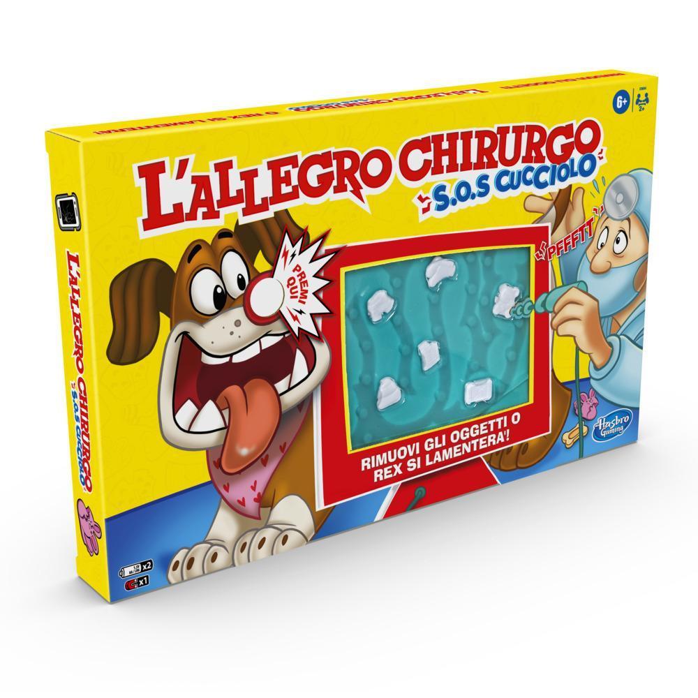 L'Allegro Chirurgo S.O.S Cucciolo (Gioco in scatola con suoni divertenti, Hasbro Gaming)