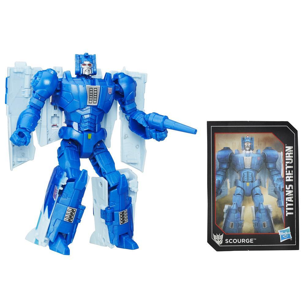 Transformers Generations Titans Master Fracas and Scourge