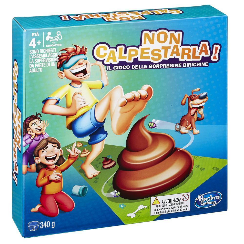 Non Calpestarla! (Gioco in Scatola, Hasbro Gaming)