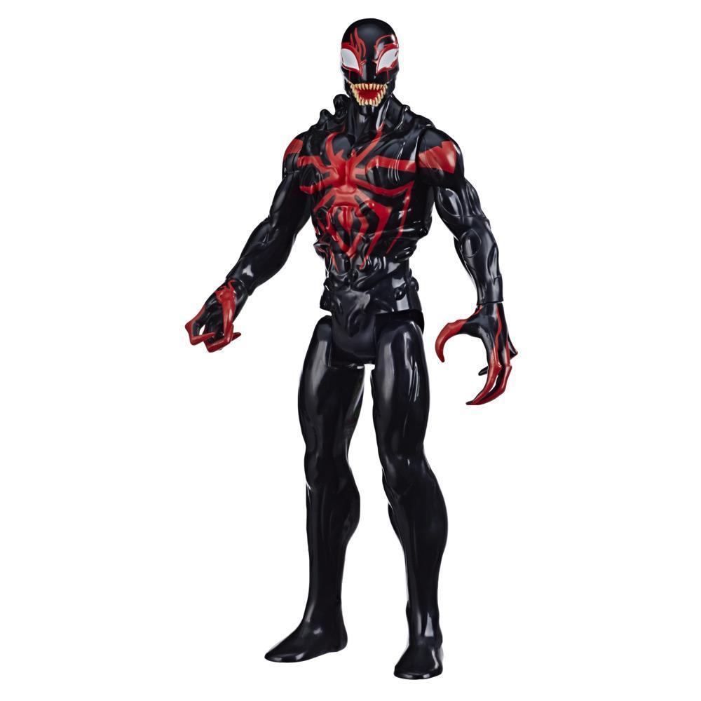 Spider-Man - Miles Morales (Action Figure 30 cm Titan Hero compatibile con il lanciacolpi Titan Hero Blast)