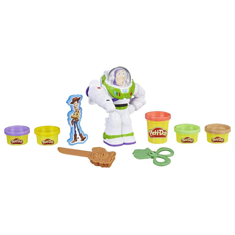 Play-Doh - Buzz Lightyear (playset con vasetti ispirato al film Toy Story 4)
