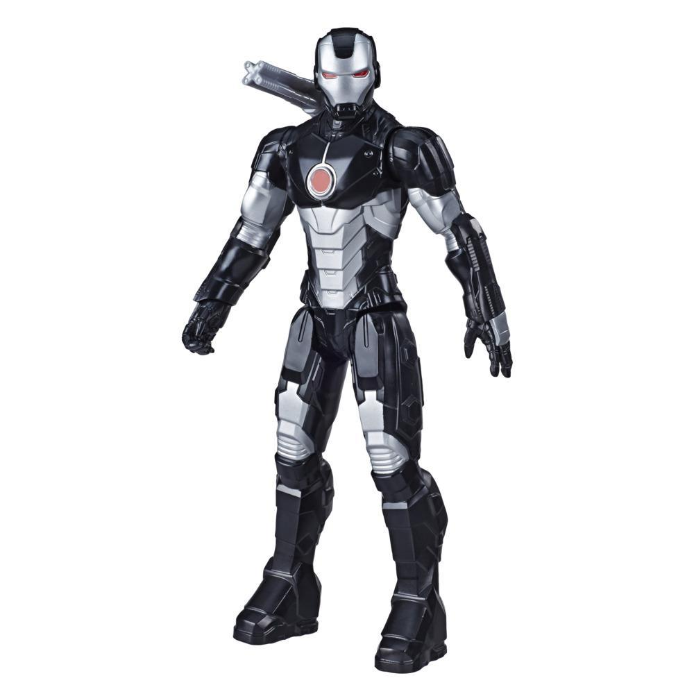 Avengers - Marvel's War Machine (Action figure 30 cm con Blaster Titan Hero Series Blast Gear)