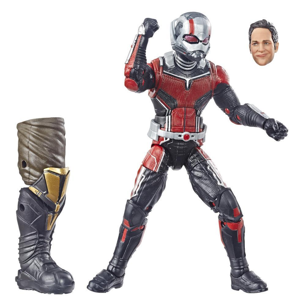 Marvel Legends - Ant-Man (Action Figure da collezione 15cm, ispirata ad Ant-Man & The Wasp - Build-A-Figure Thanos)