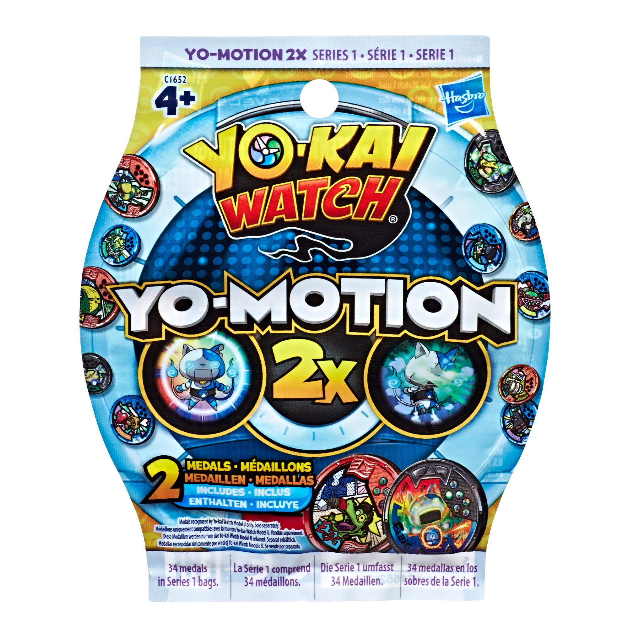 Yo-kai Watch - Medaglie Yo-Motion 2X Blind Bag (Serie 1)