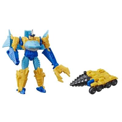 Transformers Cyberverse - Sky-Byte (con Spark Armor) - Si combina con il veicolo Driller Drive per potenziarsi - Adatto a bambini dai 6 anni in su, 10 cm Product