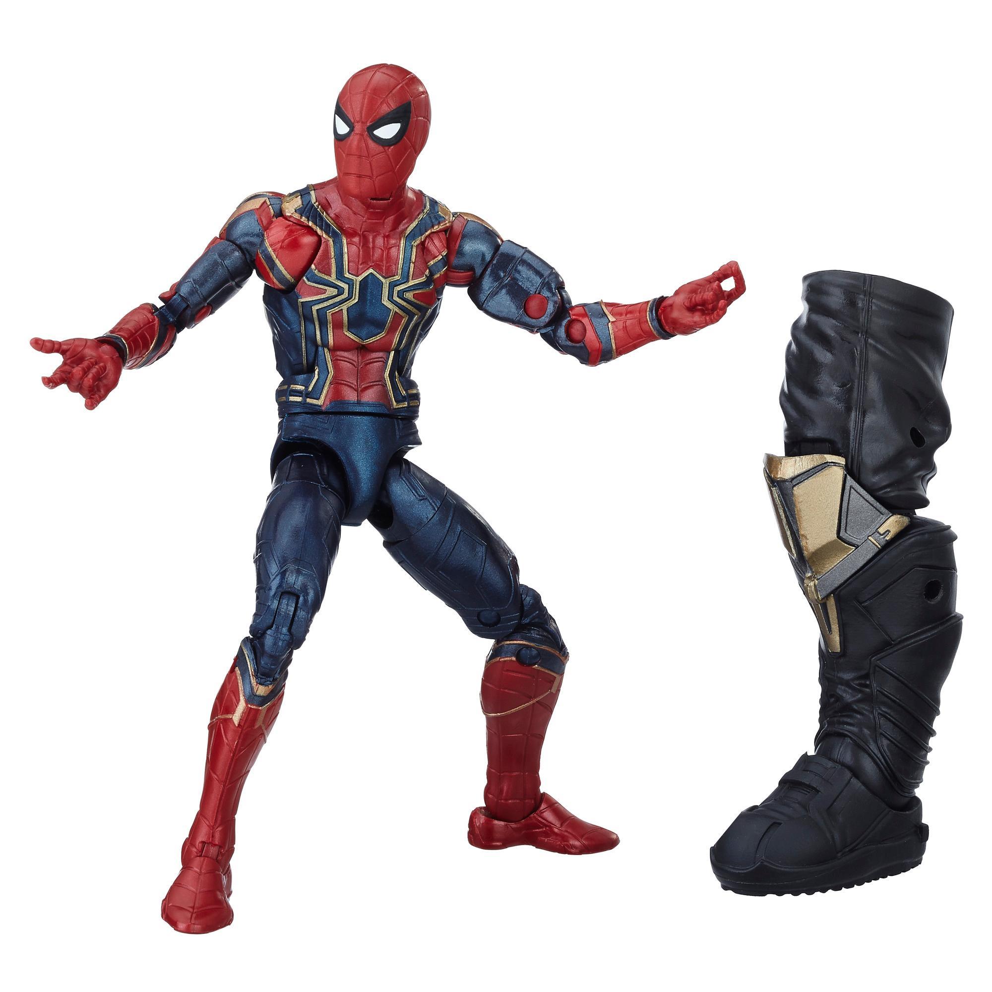 Marvel Legends - Iron Spider (Build-A-Figure Thanos Action Figure Collezione, 15 cm)