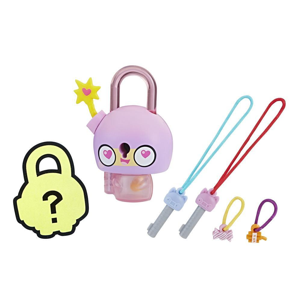 Lock Stars - Lucchetto Singolo Serie 1 (Personaggi e Colori Assortiti)
