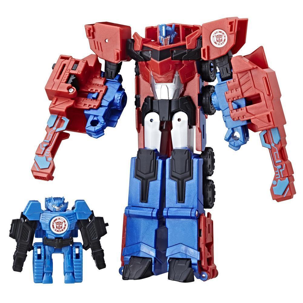 Transformers: RID Combiner Force Activator Combiner Optimus Prime e Hi-Test