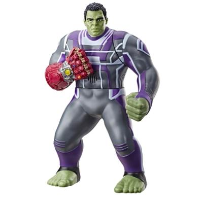 Avengers: Endgame - Hulk Pugni Invincibili (personaggio action figure elettronica con 20 suoni e frasi)