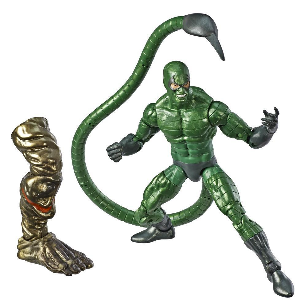 Marvel Legends - Scorpion (Action Figure da collezione 15cm, ispirata a Spider-Man: Far From Home - Build-A-Figure Molten Man)