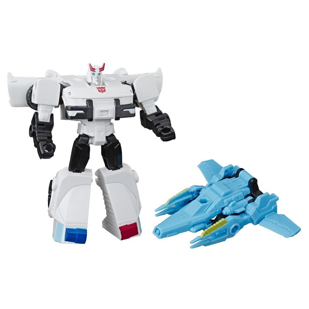 Transformers Cyberverse - Prowl (con Spark Armor) - Si combina con il veicolo Cosmic Patrol per potenziarsi - Adatto a bambini dai 6 anni in su, 10 cm