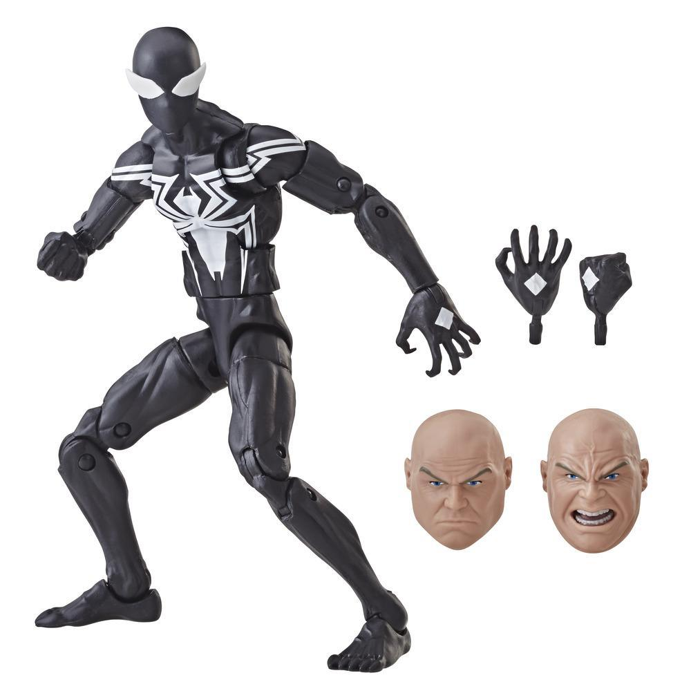 Marvel Legends - Spider-Man Symbiote (Action Figure da collezione 15cm - Build-A-Figure Marvel's Kingpin)