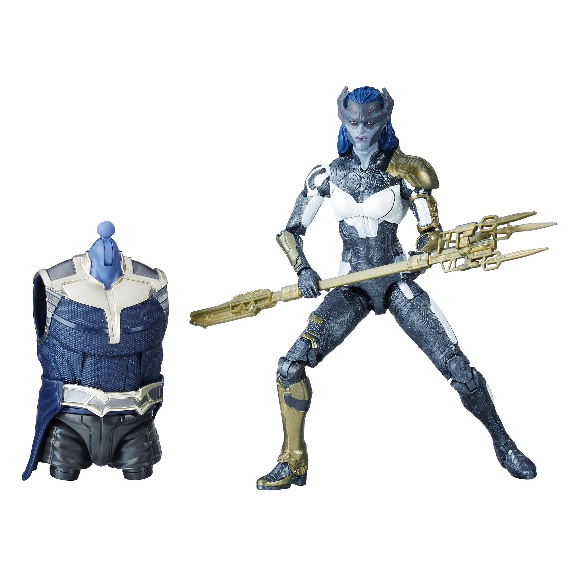 Marvel Legends - Proxima Midnight (Build-A-Figure Thanos Action Figure Collezione, 15 cm)